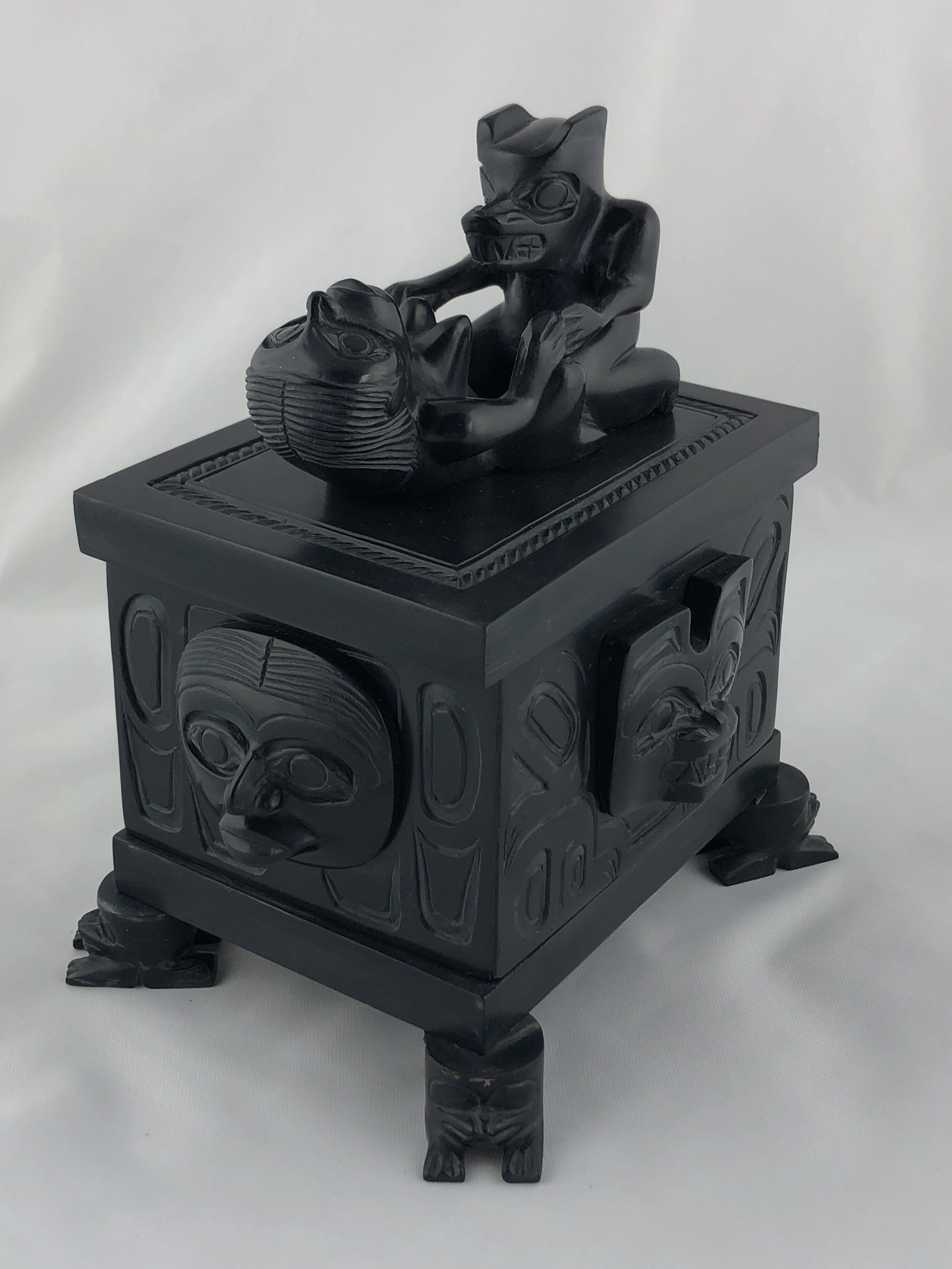 Argillite Box by Greg White