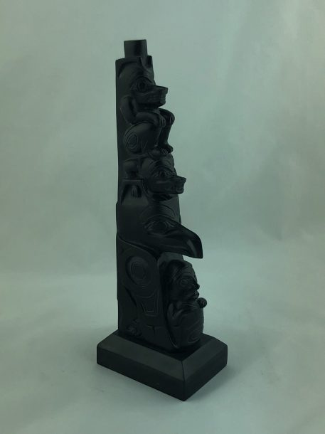 Argillite Totem by Greg White